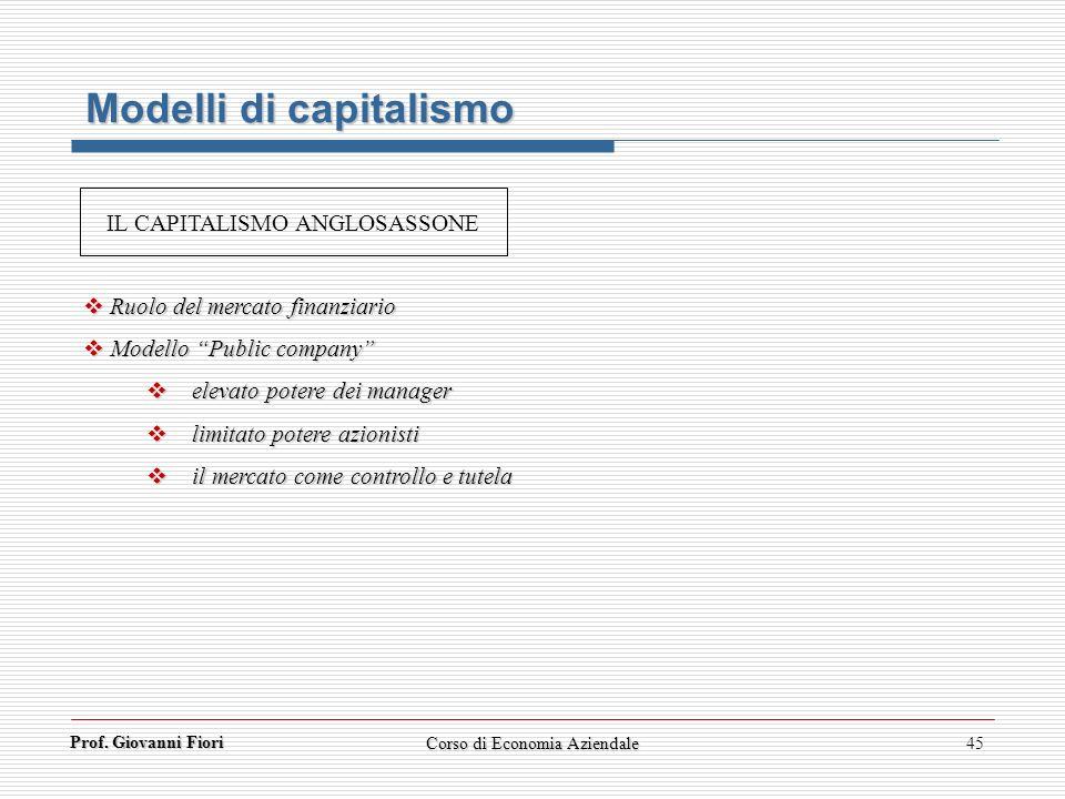 Modelli di capitalismo