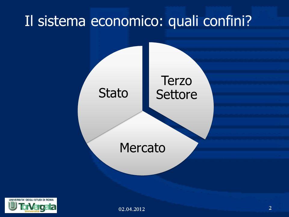 Il sistema economico: quali confini
