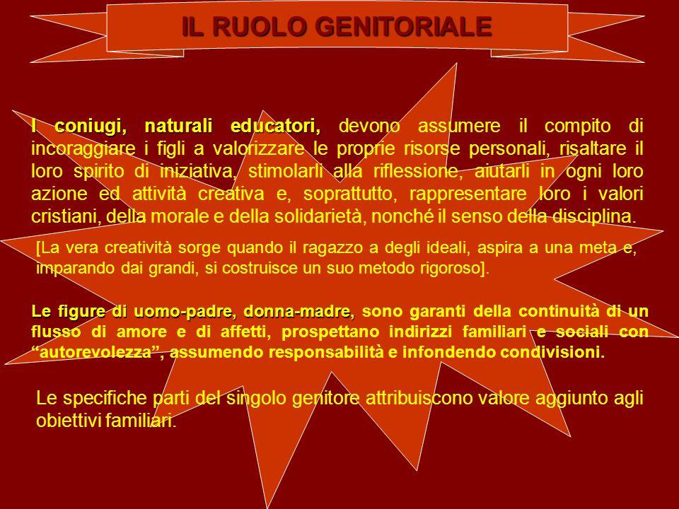 IL RUOLO GENITORIALE
