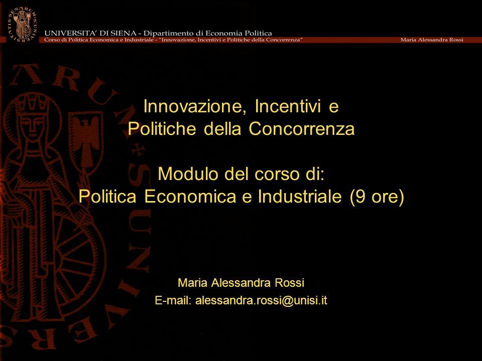 Maria Alessandra Rossi E-mail: alessandra.rossi@unisi.it