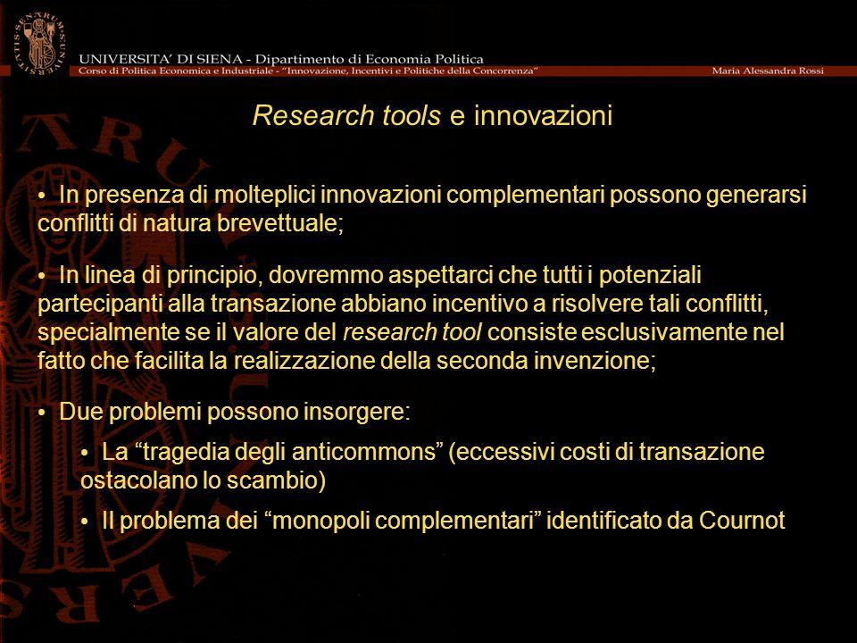 Research tools e innovazioni