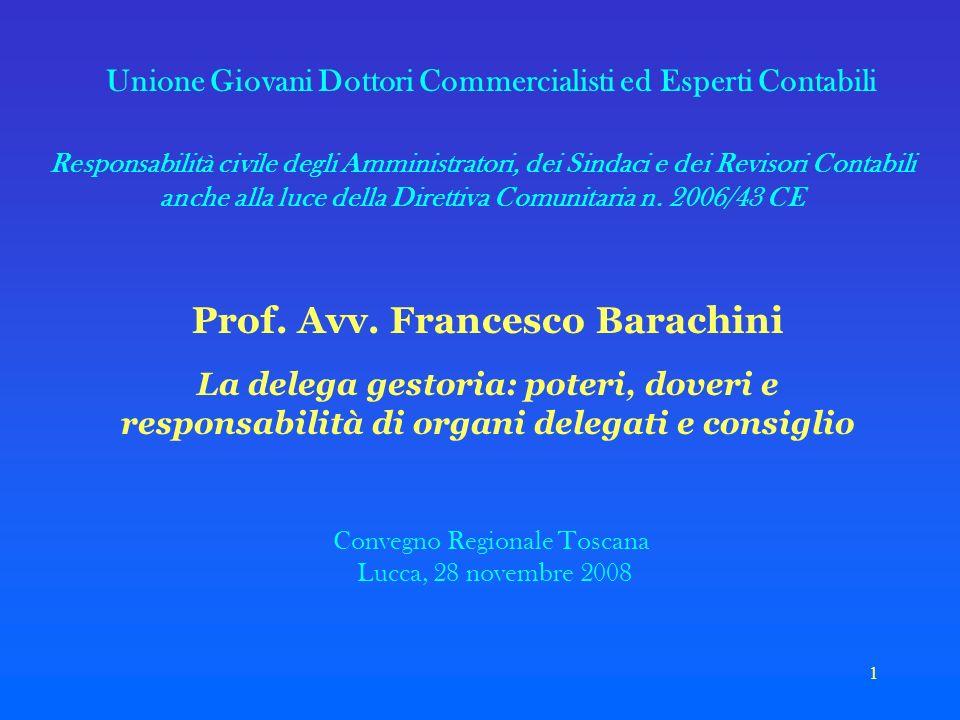 Prof. Avv. Francesco Barachini