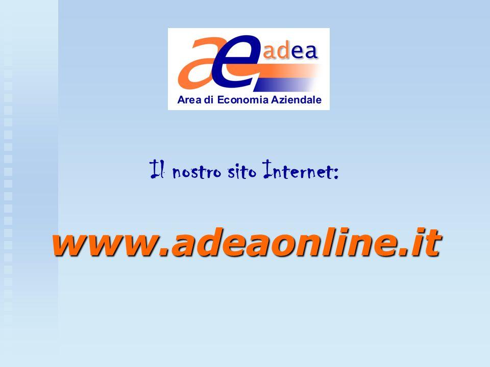 Il nostro sito Internet: