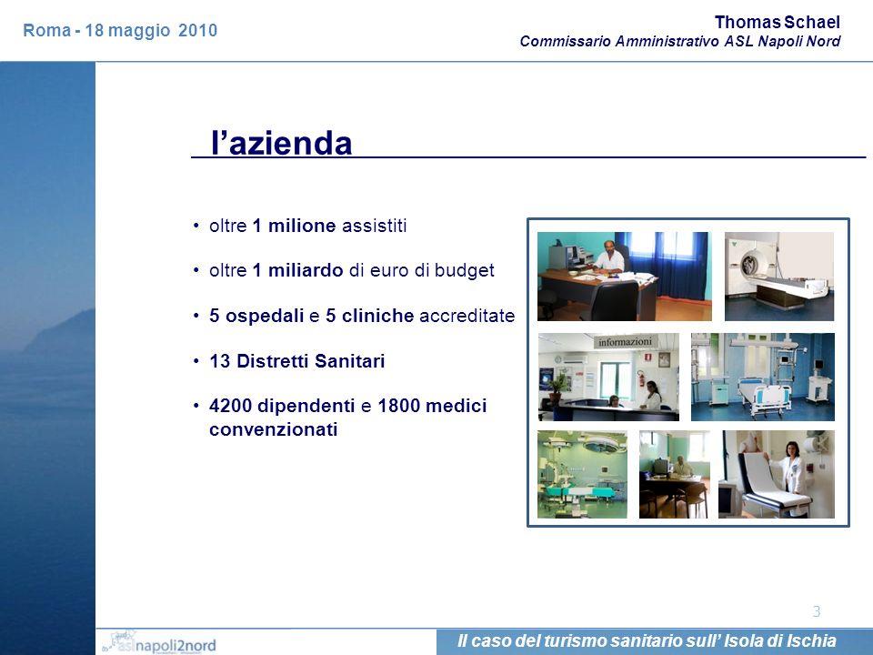 l'azienda oltre 1 milione assistiti oltre 1 miliardo di euro di budget