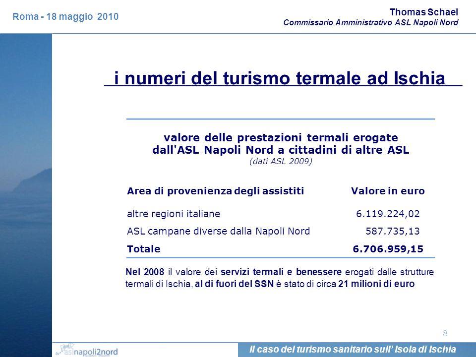 i numeri del turismo termale ad Ischia