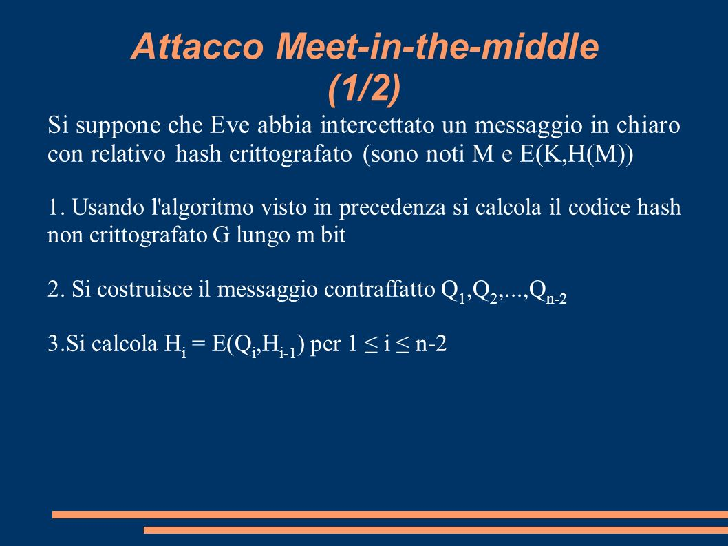 Attacco Meet-in-the-middle (1/2)