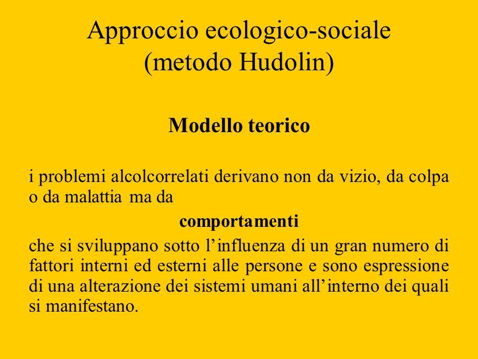 Approccio ecologico-sociale (metodo Hudolin)
