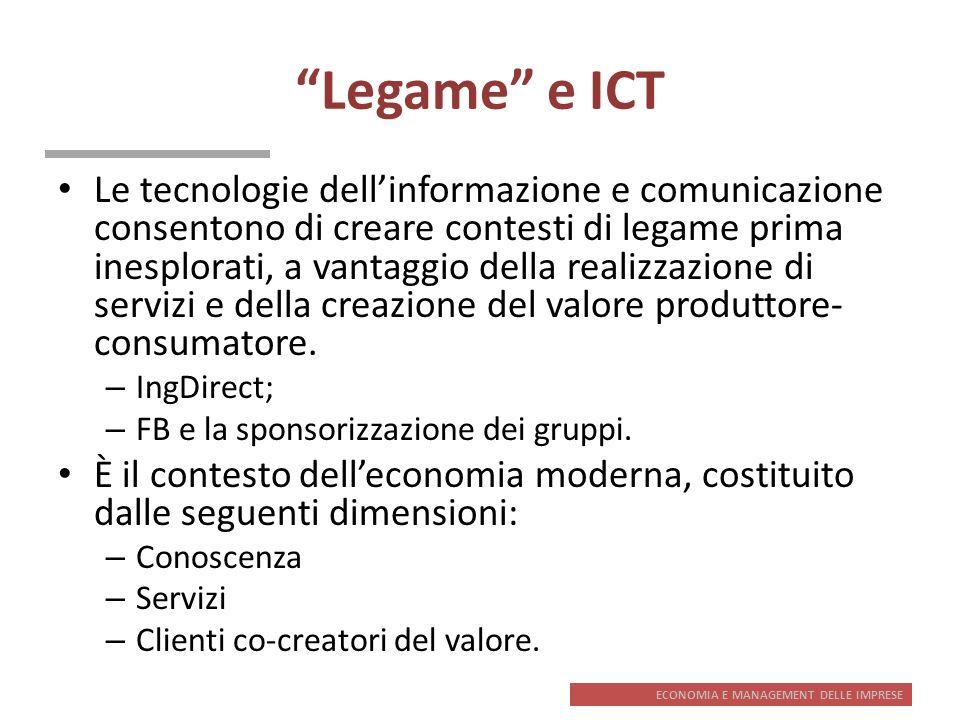 Legame e ICT