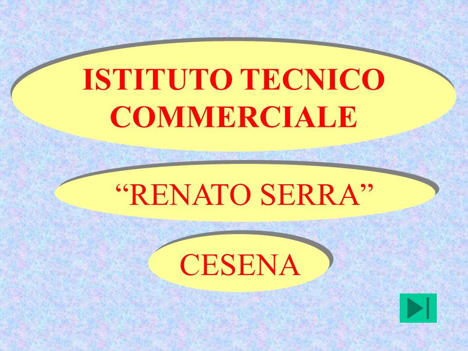 ISTITUTO TECNICO COMMERCIALE