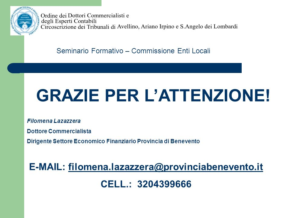 E-MAIL: filomena.lazazzera@provinciabenevento.it