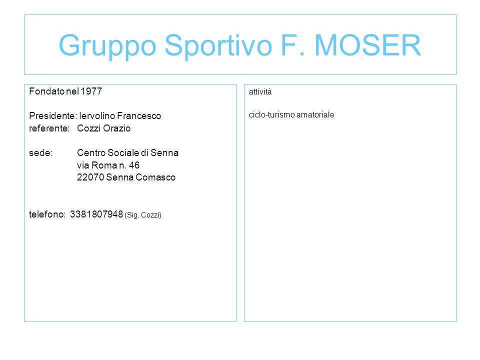 Gruppo Sportivo F. MOSER