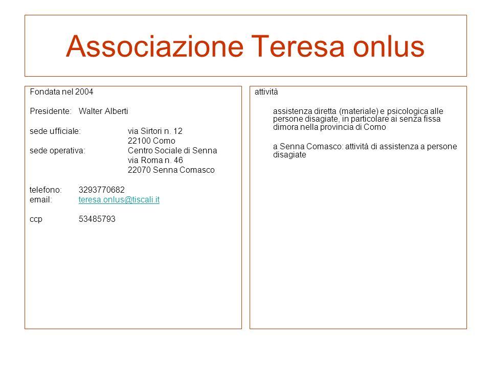 Associazione Teresa onlus