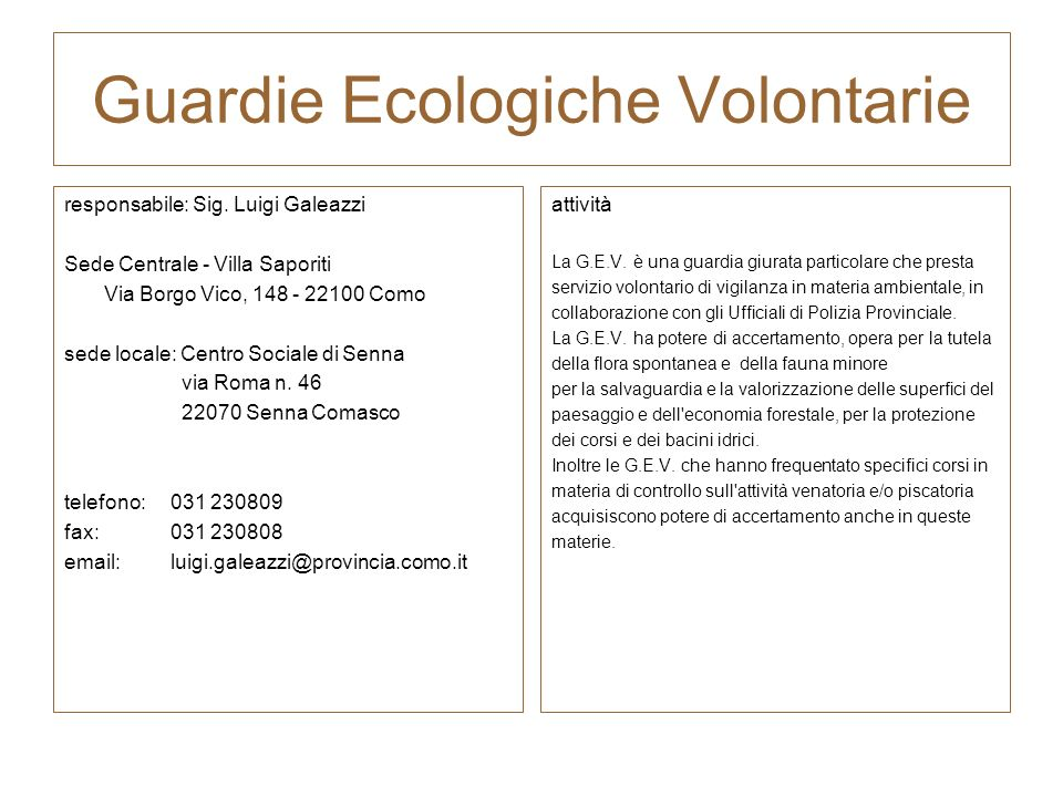 Guardie Ecologiche Volontarie