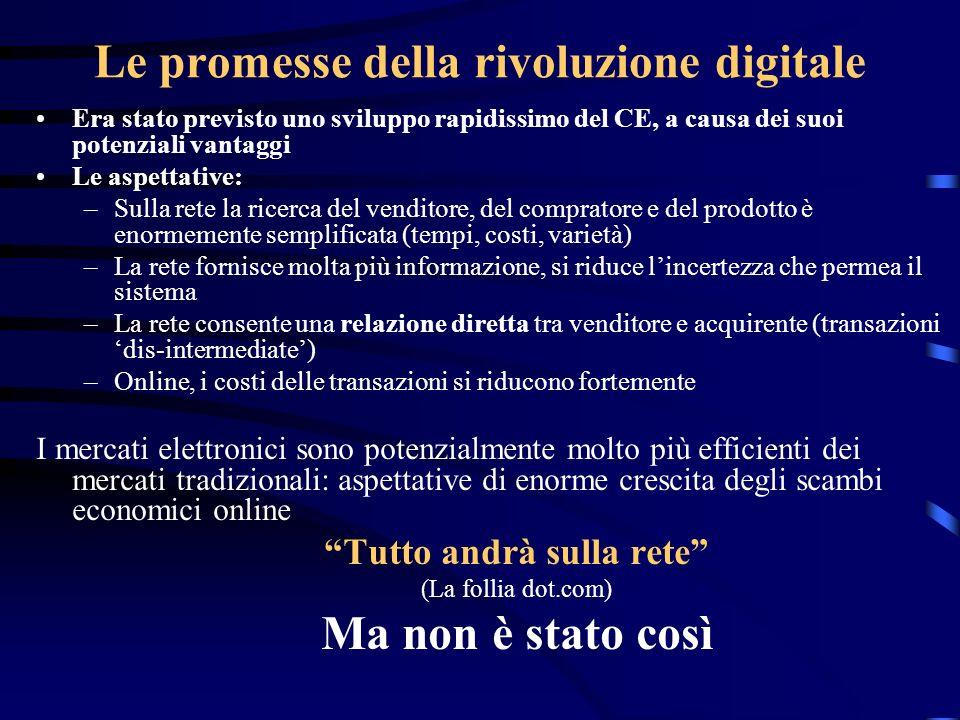 Le promesse della rivoluzione digitale