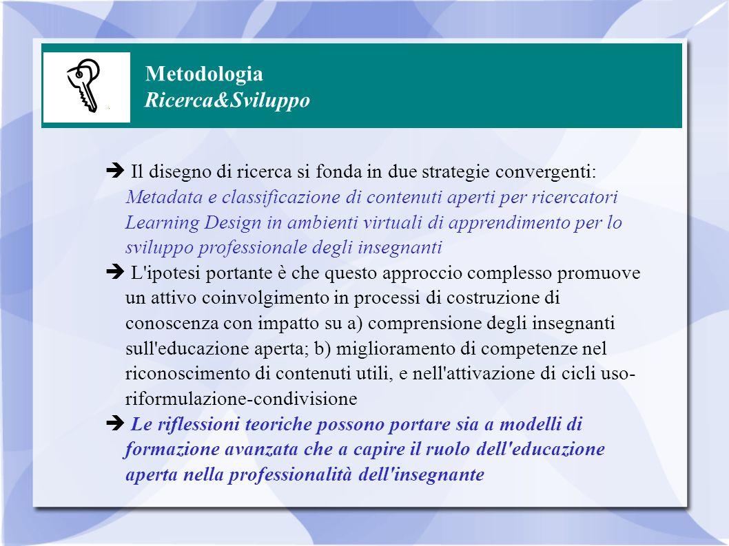 Metodologia Ricerca&Sviluppo