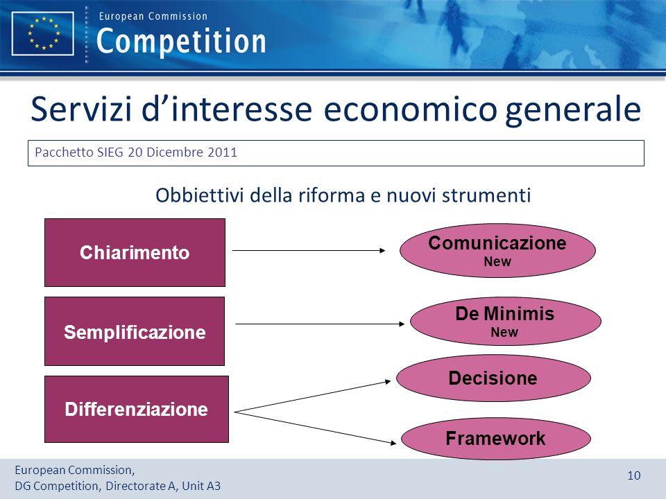 Obbiettivi della riforma e nuovi strumenti