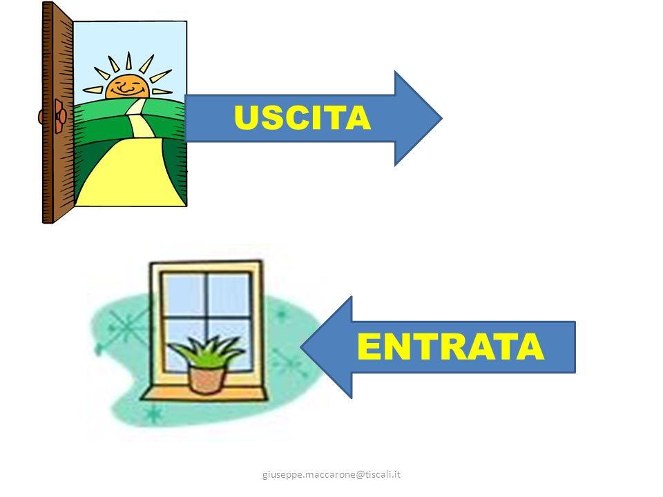 USCITA ENTRATA giuseppe.maccarone@tiscali.it