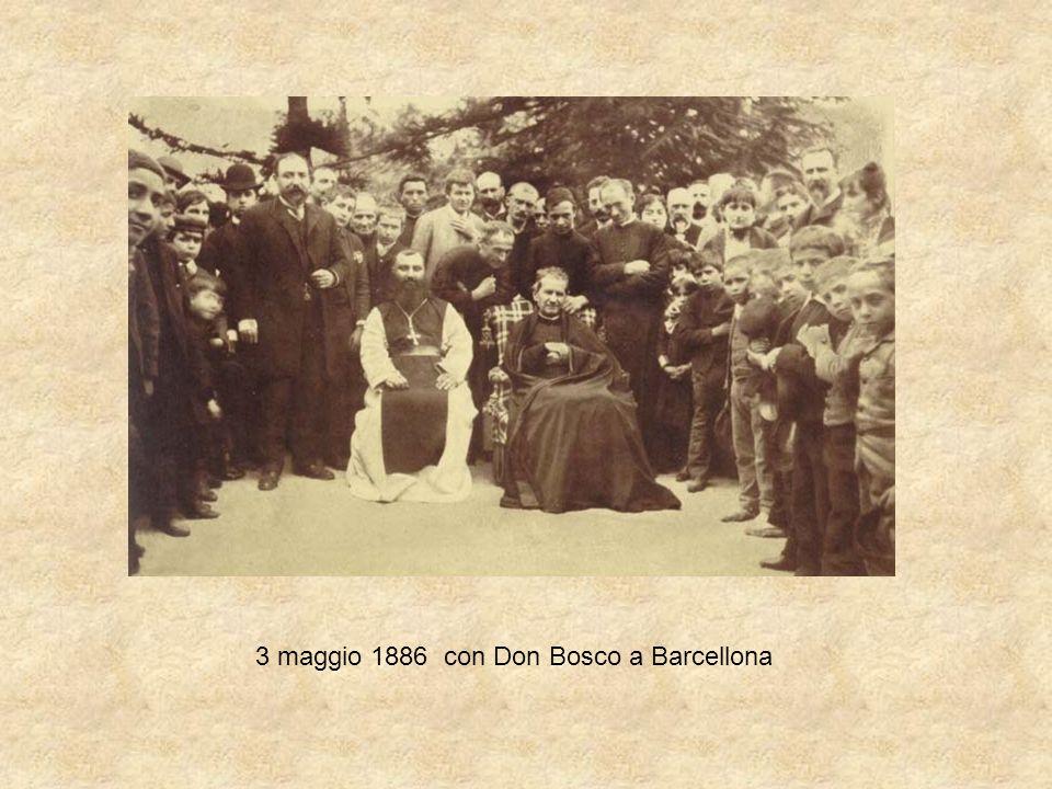 3 maggio 1886 con Don Bosco a Barcellona