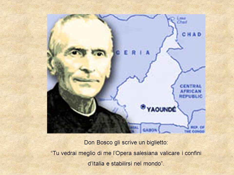 Don Bosco gli scrive un biglietto: