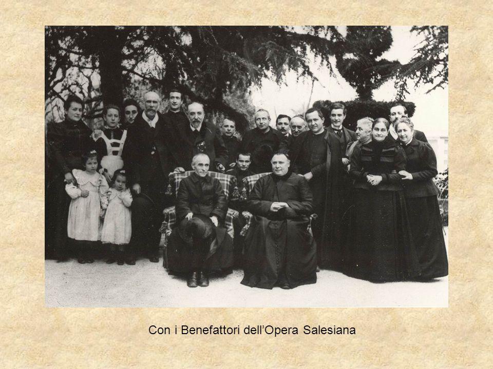 Con i Benefattori dell'Opera Salesiana