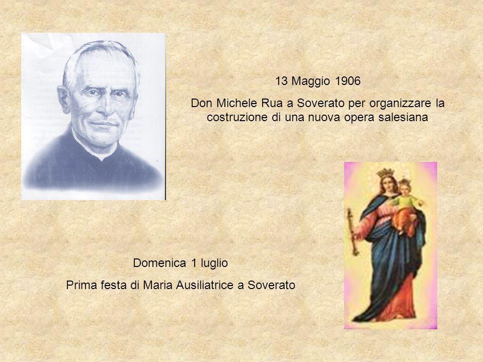 Prima festa di Maria Ausiliatrice a Soverato