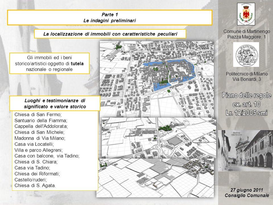 Piano delle regole ex. art. 10 Lr. 12/2005 smi Parte 1