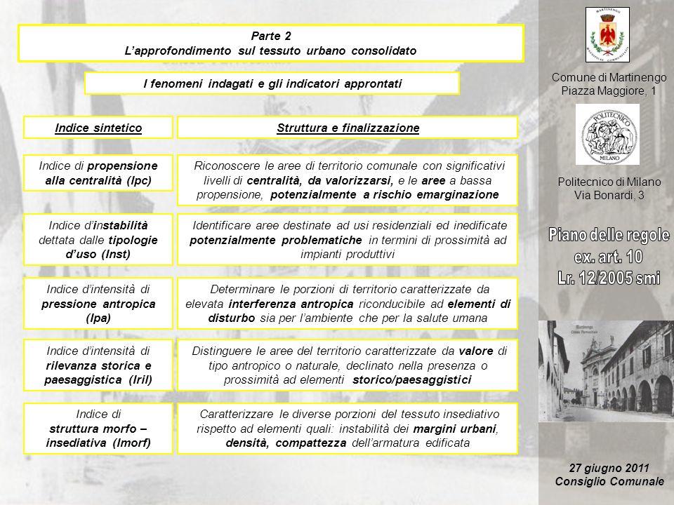 Piano delle regole ex. art. 10 Lr. 12/2005 smi Parte 2
