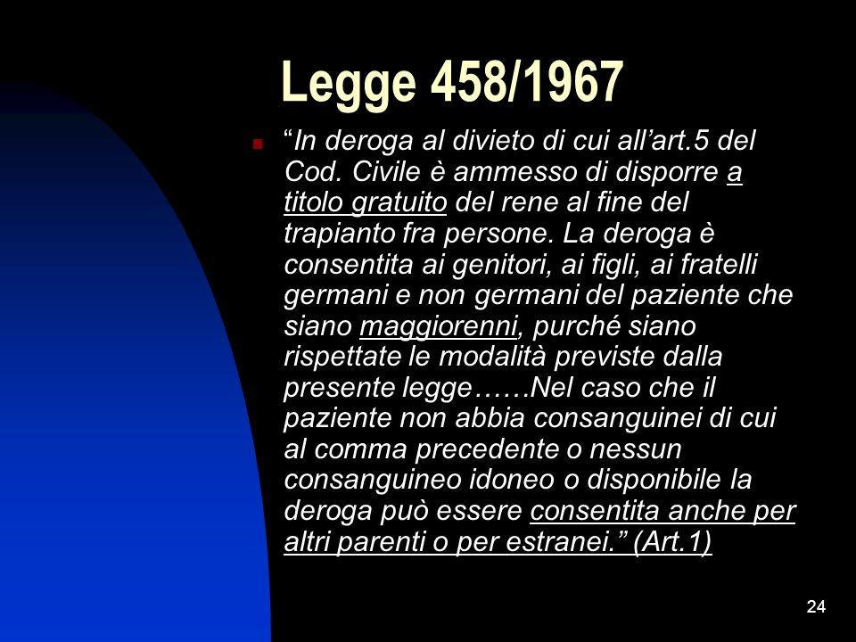Legge 458/1967
