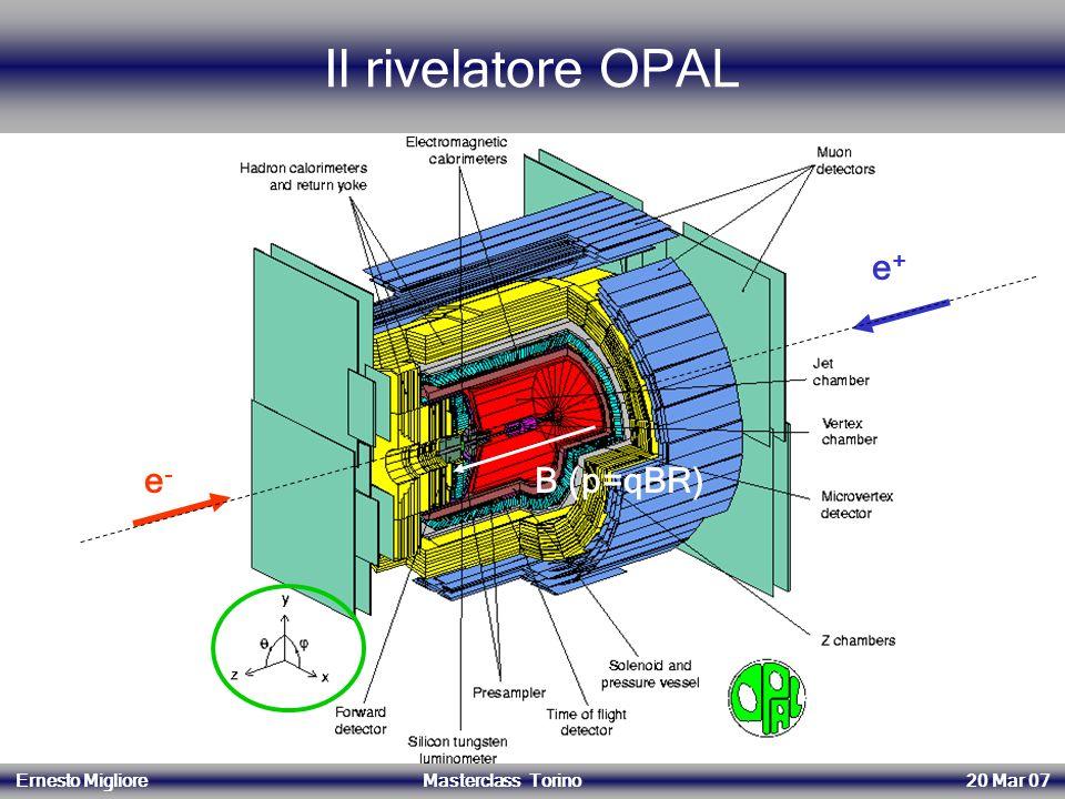 Il rivelatore OPAL e+ e- B (p=qBR) 14/06/2004