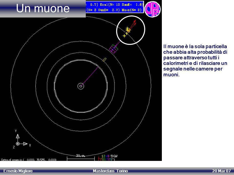 Un muone 14/06/2004.