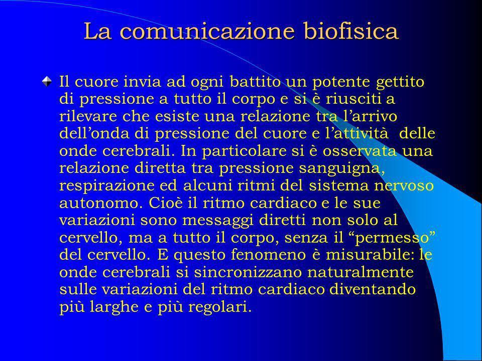 La comunicazione biofisica