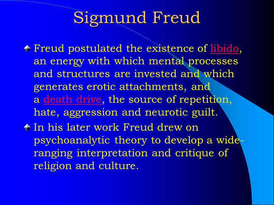 "essay freud theory At the center of freud's theory are psychopathologies that result in a  sigmund freud introduced his model of the human mind in the essay ""the unconscious."