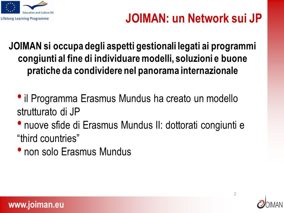 JOIMAN: un Network sui JP