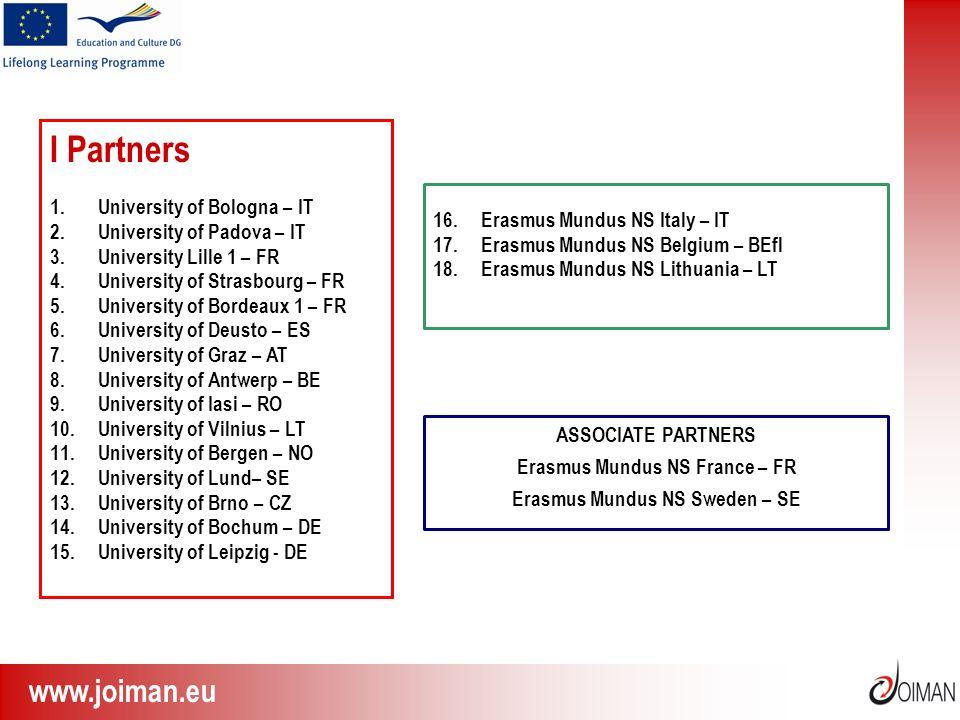 Erasmus Mundus NS France – FR Erasmus Mundus NS Sweden – SE