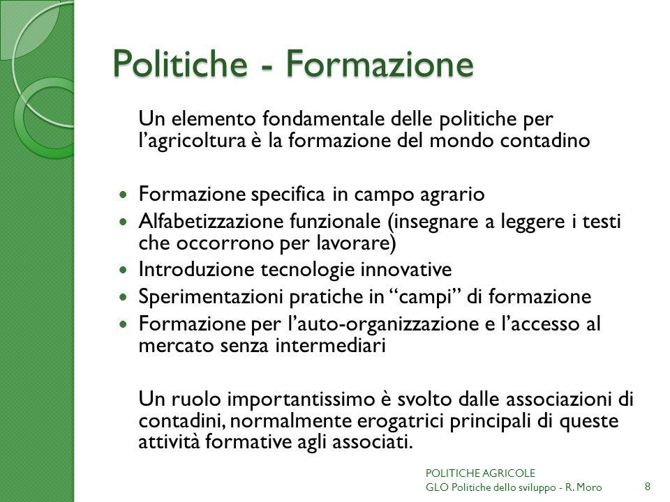 Politiche - Formazione