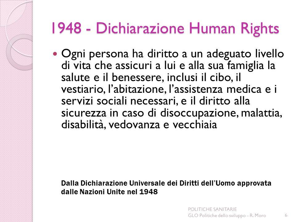 1948 - Dichiarazione Human Rights