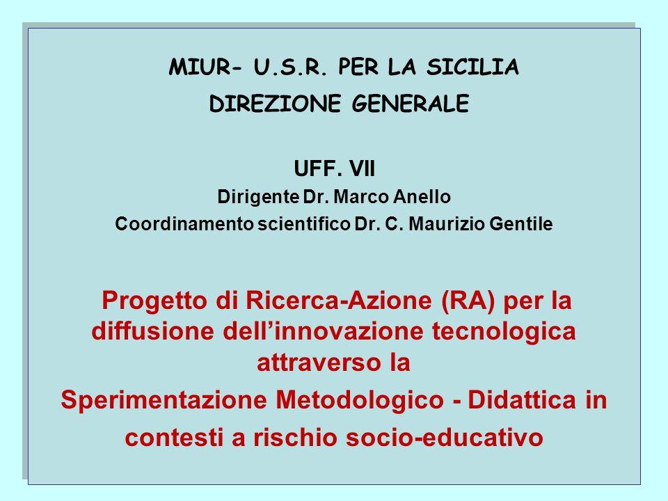 MIUR- U.S.R. PER LA SICILIA