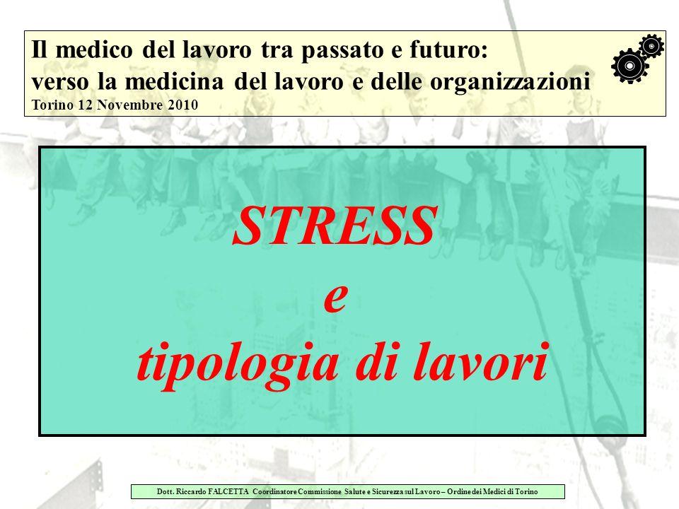 STRESS e tipologia di lavori
