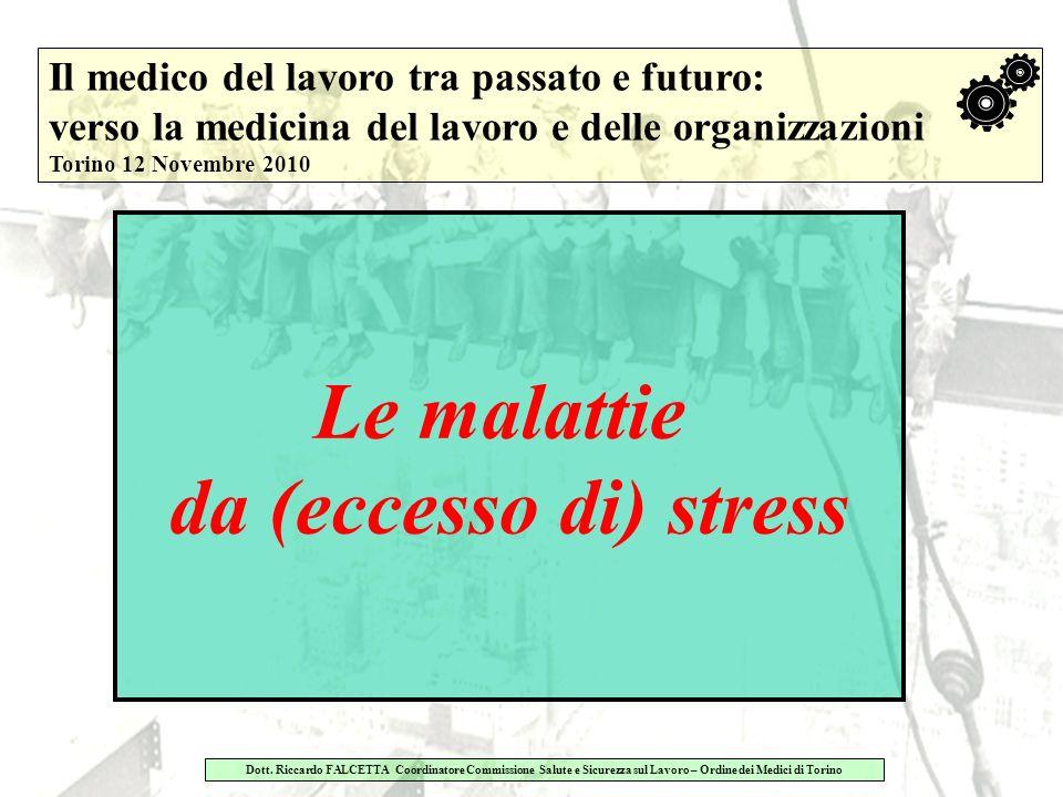 Le malattie da (eccesso di) stress