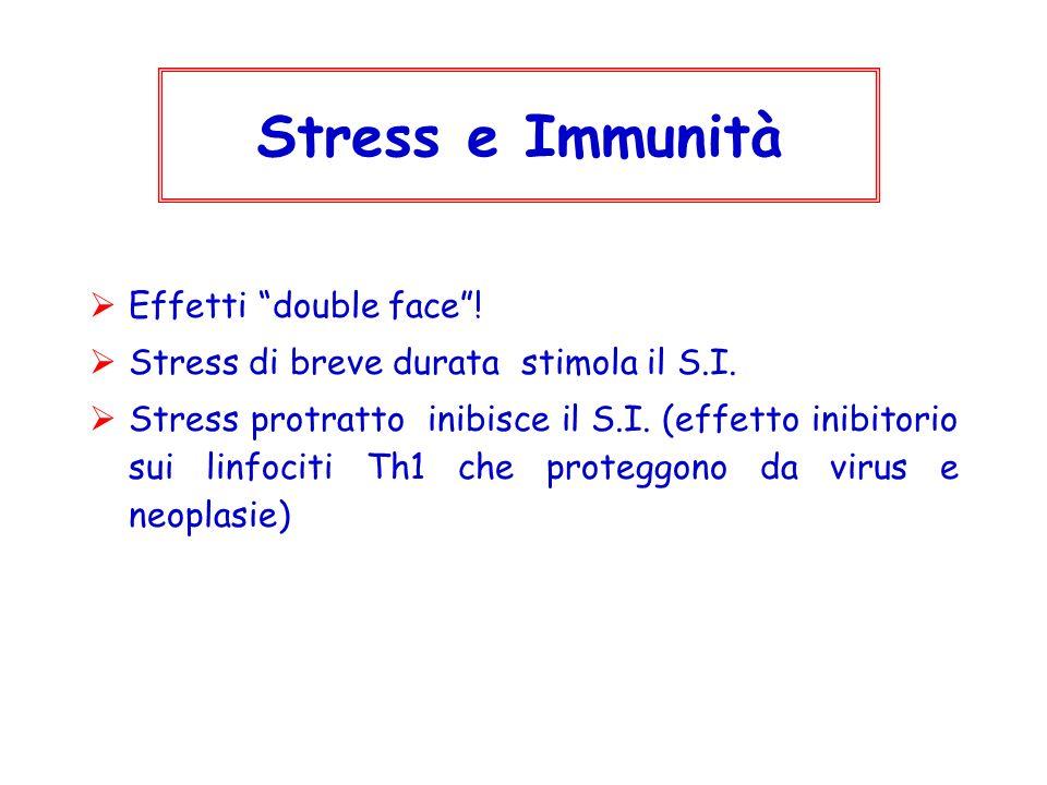 Stress e Immunità Effetti double face !