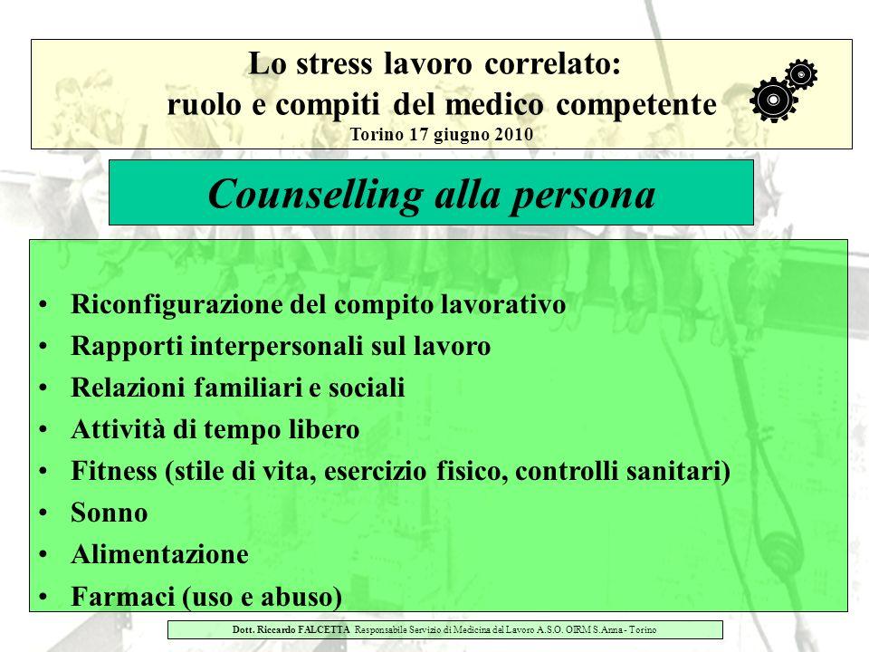 Counselling alla persona