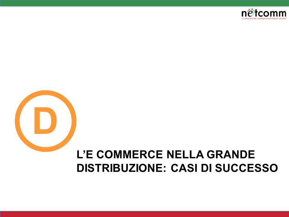 D L'E COMMERCE NELLA GRANDE DISTRIBUZIONE: CASI DI SUCCESSO