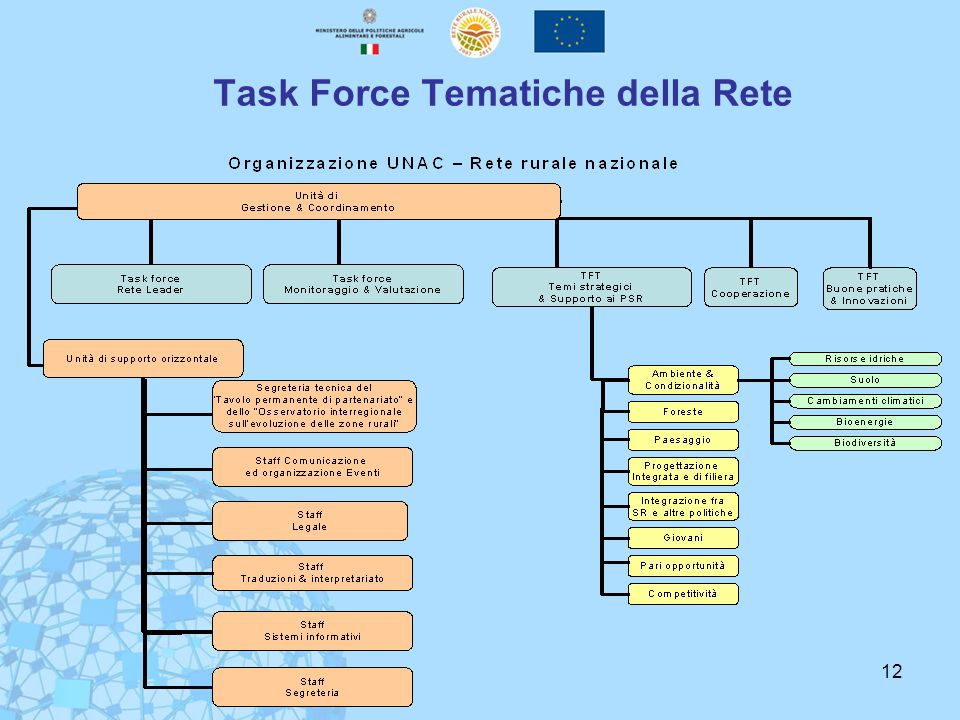 Task Force Tematiche della Rete
