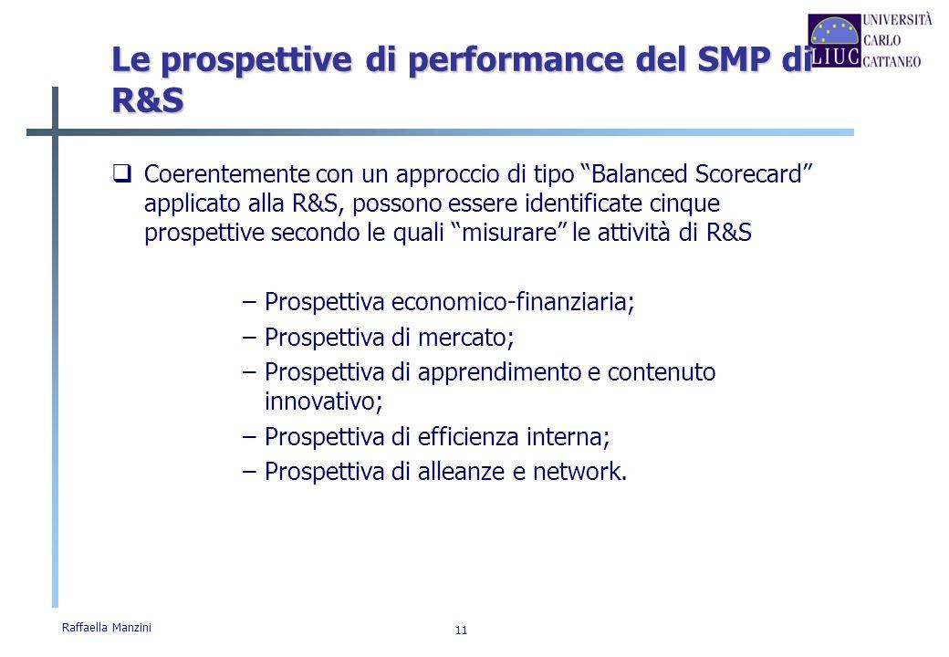 Le prospettive di performance del SMP di R&S