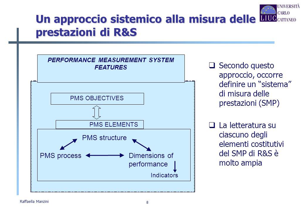Un approccio sistemico alla misura delle prestazioni di R&S