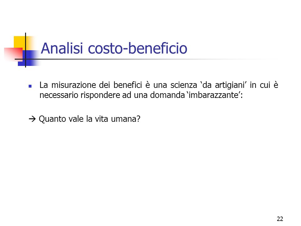 Analisi costo-beneficio