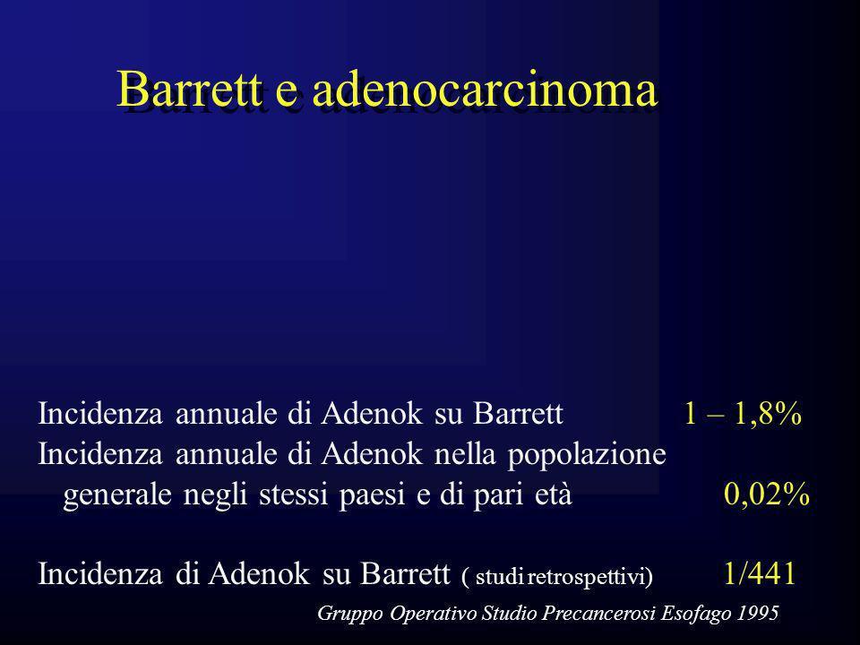 Barrett e adenocarcinoma
