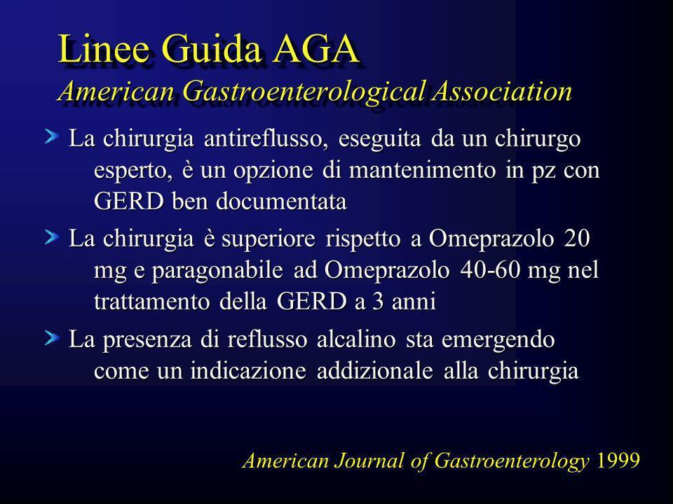 Linee Guida AGA American Gastroenterological Association
