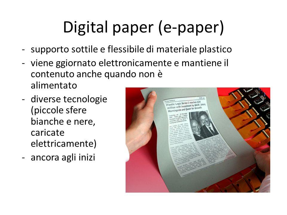 Digital paper (e-paper)