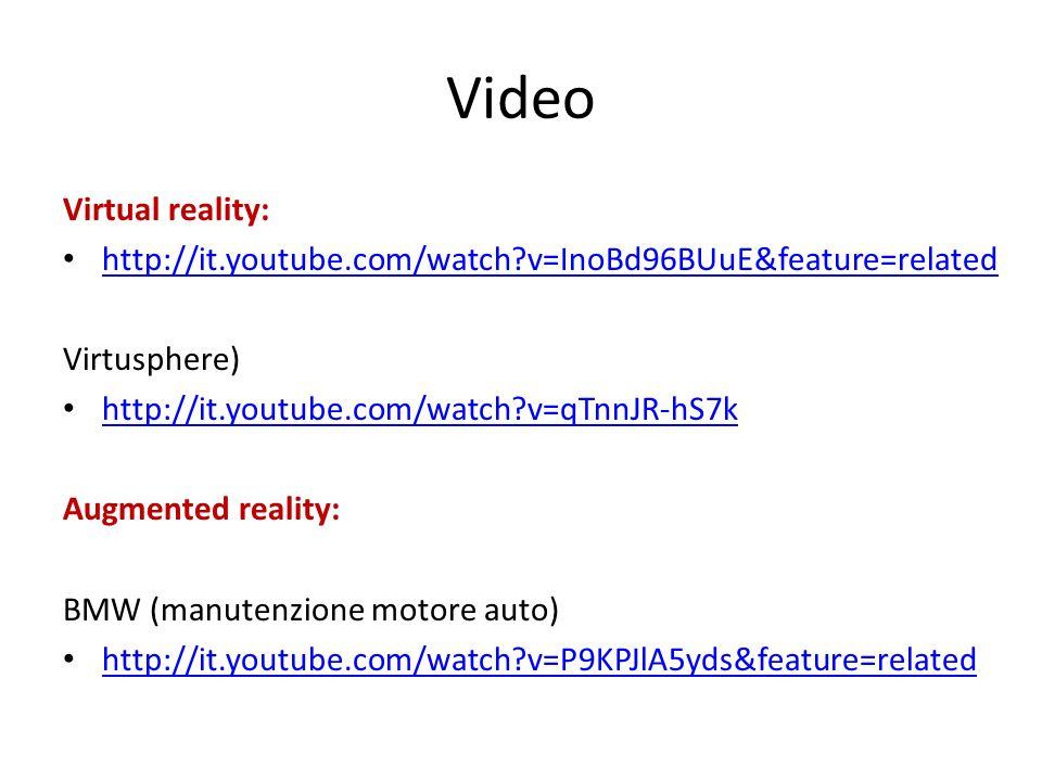 Video Virtual reality: